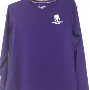 Under Armour Wounded Warrior Purple Long Sleeve